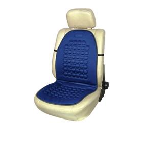 Накидка на сиденье ортопедическая Skyway DRIVE, 95х45 см, синий Ош