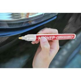 Маркер-карандаш Skyway универсальный, с наконечником из фетра, белый Ош