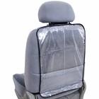 Накидка защитная на спинку сиденья SKYWAY 60 х 38 см, ПВХ, прозрачная