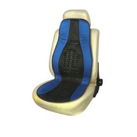 Накидка на сиденье ортопедическая Skyway DRIVE, 115х45 см, черно-синий Ош