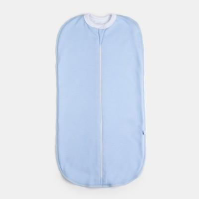 Пелёнка «Кокон» на подкладке, рост 62 см, цвет голубой