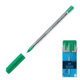 Ручка шариковая Schneider TOPS 505M, узел 0.5 мм, чернила зелёные