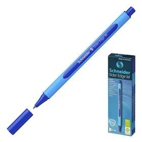 Ручка шариковая Schneider Slaider Edge М, узел 0.5 мм, чернила синие