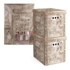 Набор коробов картонных Vintage, 2 шт, 28 х 38 х 31,5 см