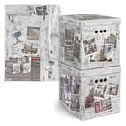 Набор коробов картонных Travelling Photos, 2 шт, 28 х 38 х 31,5 см