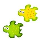 Набор мини-ковриков для ванной 6 шт, «Черепашка», на присосах, цвет МИКС