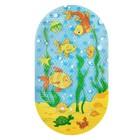 SPA-коврик для ванны «Подводный мир», 69 х 39 см