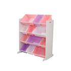 Система для хранения с 12 контейнерами, цвет белый