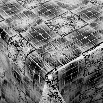 Скатерть без основы многоразовая «Ажурная», 110×132 см, цвет МИКС - Фото 1