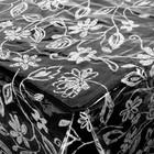 """Скатерть без основы многоразовая 132х160 см """"Ажурная """" цвет МИКС"""