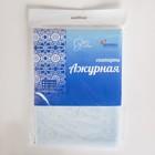 Скатерть без основы многоразовая «Ажурная», 132×220 см, цвет МИКС - Фото 13