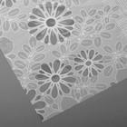 Скатерть без основы многоразовая «Ажурная», 132×220 см, цвет МИКС - Фото 9