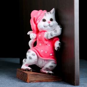 Держатель двери 'Кошка ' 23,5х12х10,5см Ош