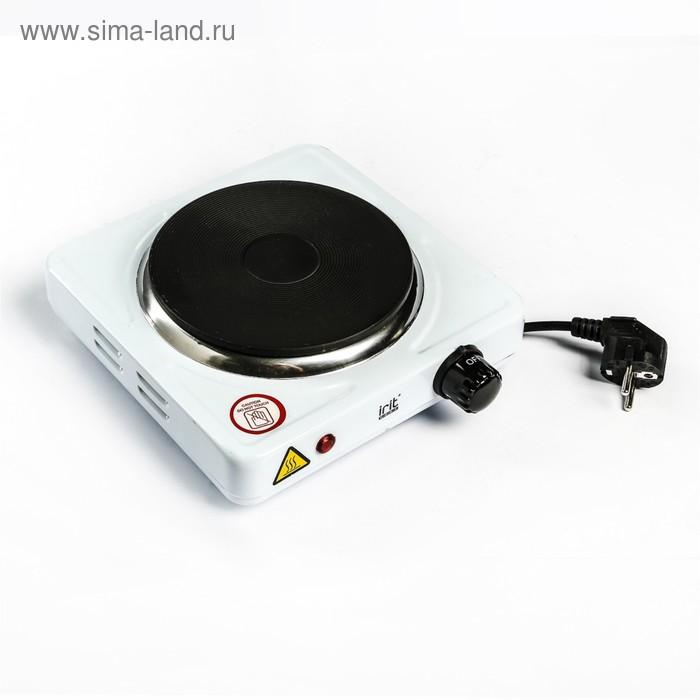 УЦЕНКА Плитка электрическая Irit IR-8004, 1 конфорка, 1000 Вт