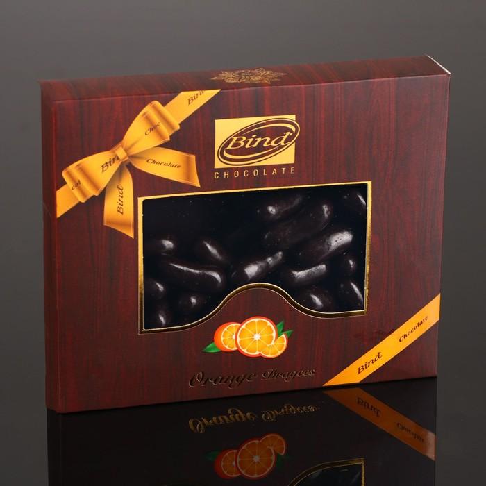 Апельсиновая цедра в шоколаде Bind, 100 г