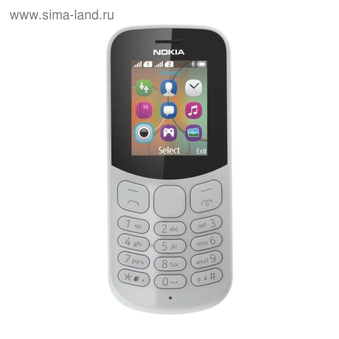Сотовый телефон Nokia 130 DS Grey TA-1017
