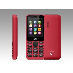 Сотовый телефон BQ M-2431 Step L+, красный