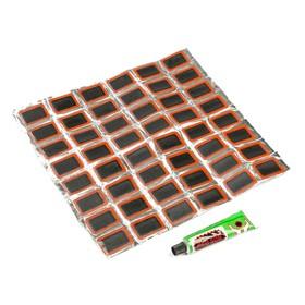 Резиновые заплатки для ремонта шин, набор 48 шт. Ош