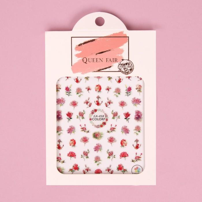 Наклейки для ногтей «Розы»