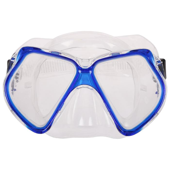 Маска для плавания взрослая, PVC, в пакете