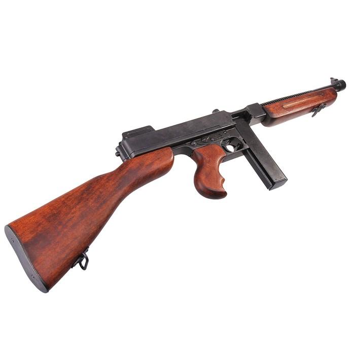 "Макет пистолет-пулемета Томпсон, 45 мм, Америка 1928 г., ""M1"""