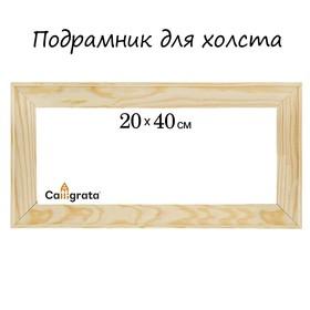 Подрамник для холста, 1.8 x 20 x 40 см, ширина рамы 36 мм Ош