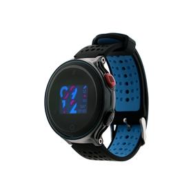 """Смарт-часы Prolike PLSW1000, дисплей 0.96"""", чёрно-голубые"""