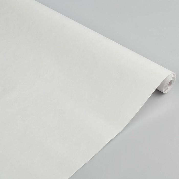Бумага упаковочная крафт беленая, 0,5 х 50 м