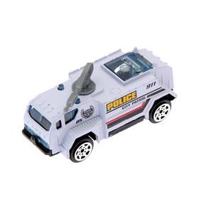 Машина металлическая «Полицейский транспорт», МИКС, в пакете Ош