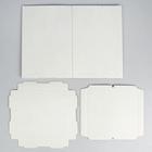 Кондитерская упаковка, короб белый, без окна, 30 х 30 х 45 см - Фото 3