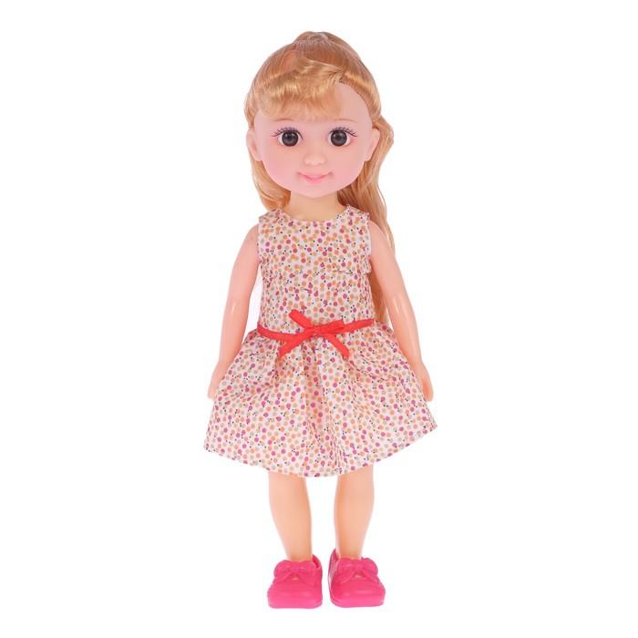 Кукла классическая Алина в платье, МИКС