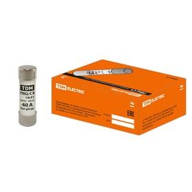 Плавкая вставка TDM ПВЦ-С3, 40 А, 14х51 мм, SQ0729-0020 Ош