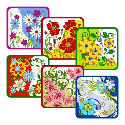 Прихватка «Полевые цветы», размер 15 × 15 см, цвет микс