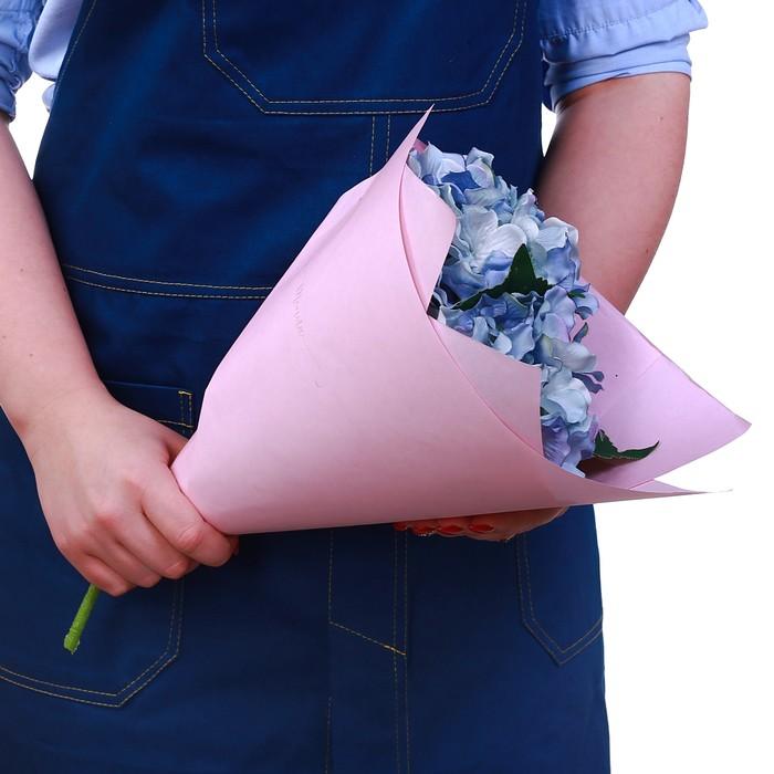 Бумага крафт цветная двусторонняя пантон Розовый персик, 50 х 70 см