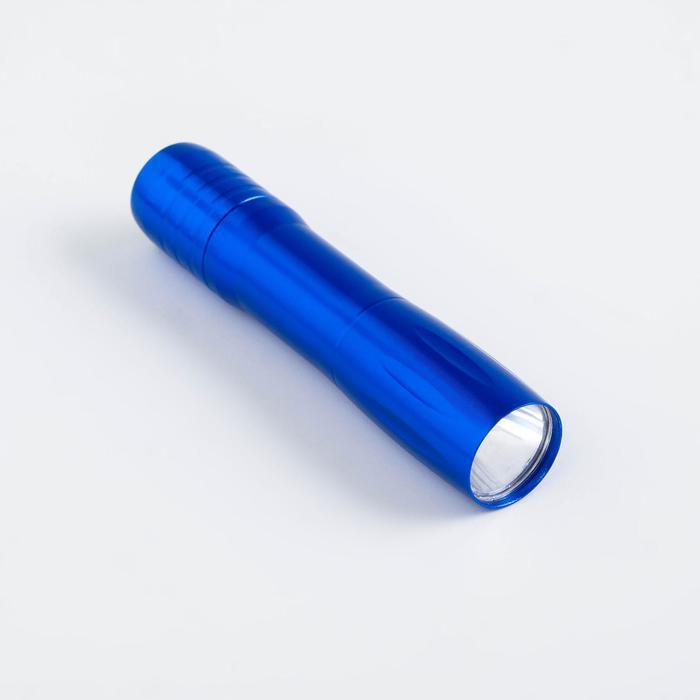 Фонарь ручной Трубка, 9.5 х 4.5 см, 1 АА, микс