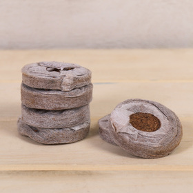 Таблетки кокосовые, в оболочке, d = 4,2 см, набор 6 шт. Ош