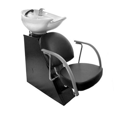 Мойка парикмахерская ЕЛЕНА с креслом ГЛОРИЯ, 110*58*95, цвет черный