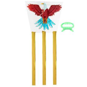 Воздушный змей «Орёл», с леской Ош