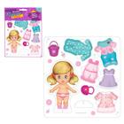 Игра одень куклу «Модный образ: малышка», из пенокартона