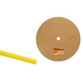 Трубка термоусаживаемая TDM ТУТнг 10/5, желтая, 100 м, SQ0518-0016 Ош