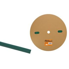 Трубка термоусаживаемая TDM ТУТнг 12/6, зеленая, 100 м, SQ0518-0025 Ош