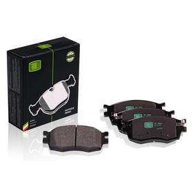 Колодки тормозные дисковые передние Kia Rio II (05-) 581011GE00, TRIALLI PF 0804 Ош