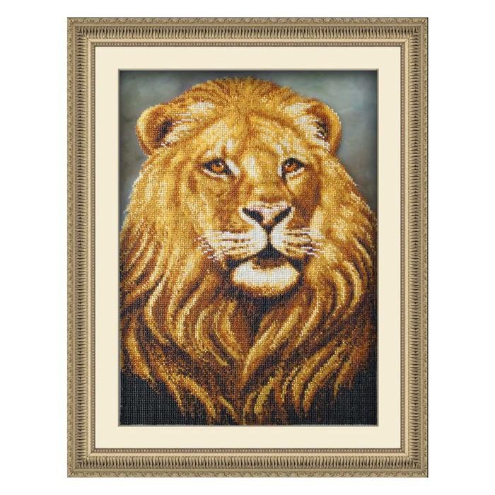 Набор для вышивки бисером «Лев»