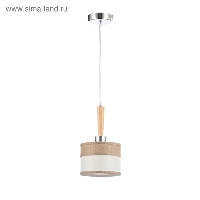 Светильник Helen 1x40Вт E27 никель, коричневый 155x155x1535см