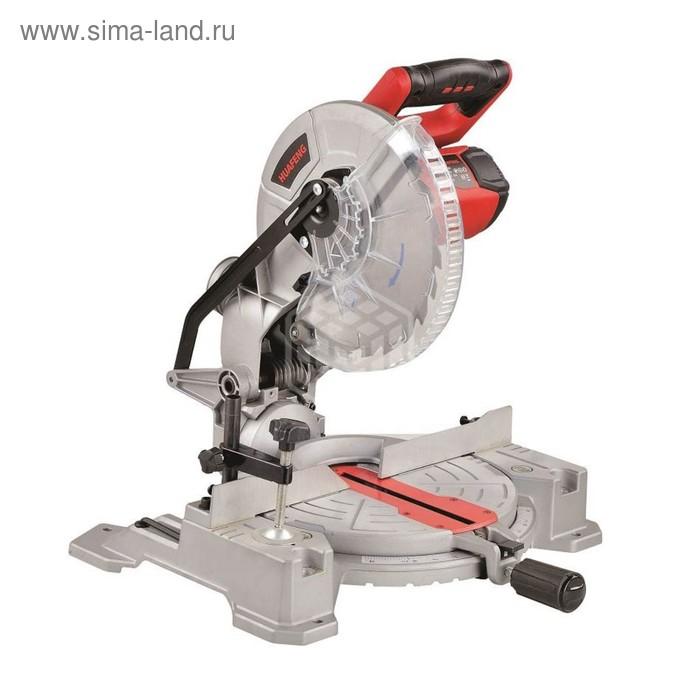 Пила торцовочная RedVerg RD-MS255-1400, 1800 Вт, диск 250х30мм, 5000 об/мин, 70х140 мм