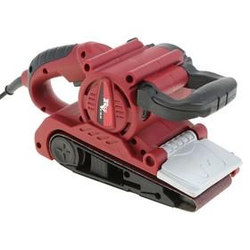 Ленточная шлифмашина RedVerg RD-BS 85, 850 Вт, 260 м/мин, 75х457 мм, 260 об/мин, п/сборник
