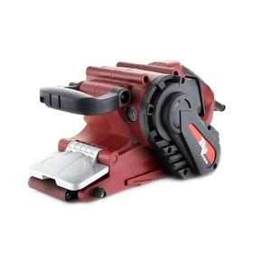 Ленточная шлифмашина RedVerg RD-BS110, 1100 Вт, 120-380 м/мин, 75х533 мм, п/сборник