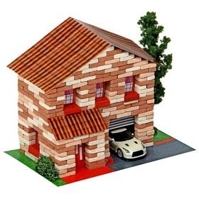 Конструктор из кирпичиков «Двухэтажный домик», 415 деталей Ош
