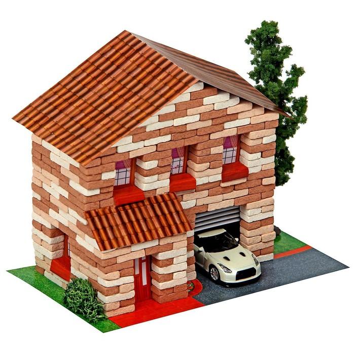 Конструктор из кирпичиков «Двухэтажный домик», 415 деталей