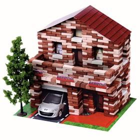Конструктор из кирпичиков «Дом с мансардой», 805 деталей